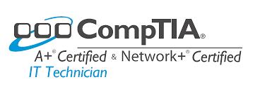 Comtia A+ en Network+ certified